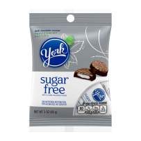 YORK Sugar Free Chocolate Covered Mint Candy, 3oz (Pack of 12)