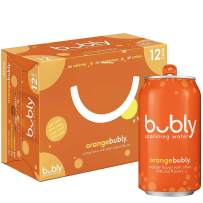 bubly Sparkling Water, Orange, 12 fl oz. cans (12 Pack)