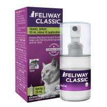 Feliway Cat Calming Pheromone Spray (20ML) | #1 Vet Recommended Solution | Reduce Anxiety for Vet Visits, Travel, Loud Noises and More