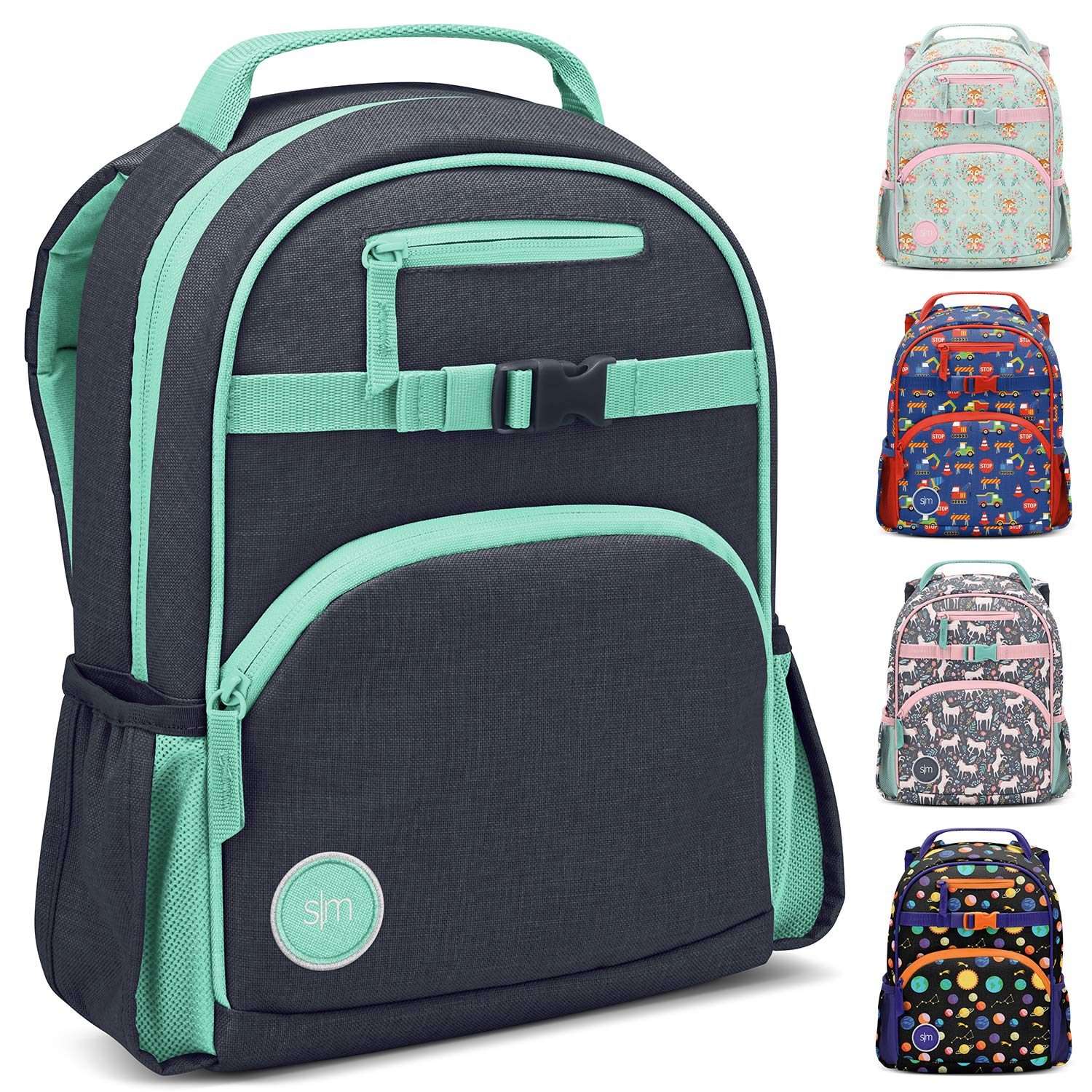 Simple Modern Kids' Fletcher Backpack, Bermuda Deep, 7 Liter