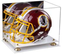 Better Display Cases Acrylic Full Size Football Helmet Display Case