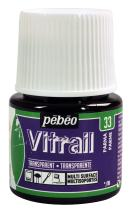 Pebeo Vitrail, Stained Glass Effect Paint, 45 ml Bottle - Parma