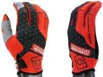 Risk Racing 153 Black/Red XX-Large Motocross Gloves
