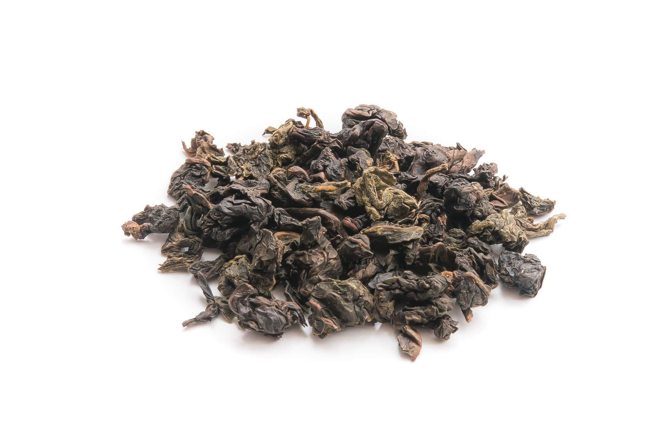 Shangri-La Tea Company Loose Leaf Tea, Se Chung Oolong Black Tea, Roasted Sweet Character, Naturally Caffeinated, Allergen Free, Non-Gmo, 2 Oz