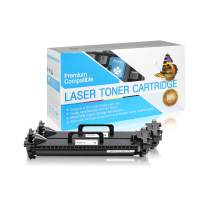 SuppliesOutlet Compatible Toner Cartridge Replacement for HP 17A / CF217A (Black,2 Pack)
