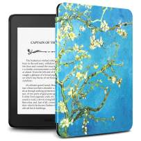 Infiland Kindle Paperwhite 2018 Case Compatible with Amazon Kindle Paperwhite 10th Generation 6 inches 2018 Release(Auto Wake/Sleep),Blossom