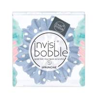 invisibobble Sprunchie Spiral Hair Ring - Scrunchie Stylish Bracelet, Strong Elastic Grip Coil Hair Accessories for Women - Gentle for Girls Teens Toddlers and Thick Hair - Dot's It