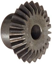 """Martin HM1624 Miter Gear, 20° Pressure Angle, High Carbon Steel, Inch, 0.310"""" Face, 1/2"""" Bore Diameter, 1.5"""" Pitch Diameter, 1.59"""" Outer Diameter, 24 Teeth"""