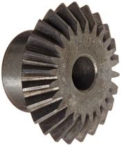 "Martin HM1624 Miter Gear, 20° Pressure Angle, High Carbon Steel, Inch, 0.310"" Face, 1/2"" Bore Diameter, 1.5"" Pitch Diameter, 1.59"" Outer Diameter, 24 Teeth"