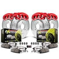 Power Stop KC2385-26 Front & Rear Z26 Street Warrior Brake Kit Honda