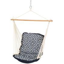Hatteras Hammocks Sunbrella Tufted Single Swing - Luxe Indigo