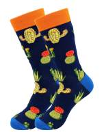 Real Sic Casual Designer Socks for Men and Women - Botanical Plant Series - Breathable and Lightwear Cotton