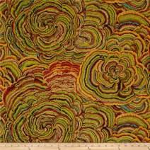 FreeSpirit Fabrics 0465218 Philip Jacobs Tree Fungi Moss Fabric by the Yard