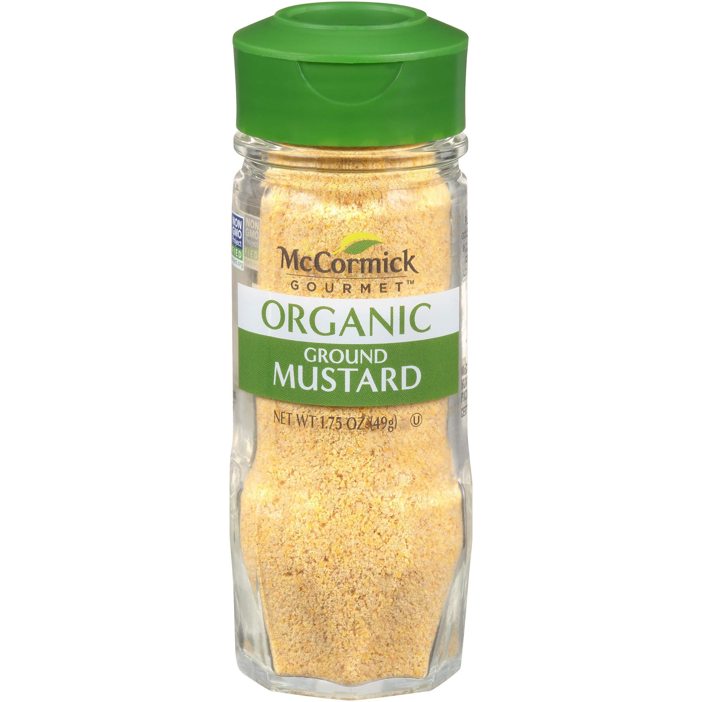 McCormick Gourmet Organic Ground Mustard, 1.75 oz