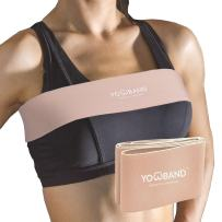 YOWBAND No-Bounce High-Impact Adjustable Breast Support Band-Extra Sports Bra Alternative