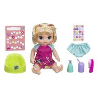 """Baby Alive Potty Dance Baby: Talking Baby Doll with Blonde Hair, Potty, Rewards Chart, Undies and More, Doll That """"Pees"""" on Her Potty, for Girls and Boys 3 Years Old And Up"""
