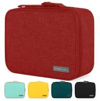 Simple Modern 3L Hadley Lunch Bag for Kids - Red Insulated Women's & Men's Lunch Box -Cherry