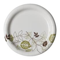 """Dixie 7""""Medium-Weight Paper Plates by GP PRO (Georgia-Pacific), Pathways, UX7PATH, 1,000 Count (125 Plates Per Pack, 8 Packs Per Case)"""