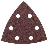 Bosch SDTR120 3-3/4 In. 120 5-Piece Grit Detail Sander Abrasive Triangles for Wood,Brown