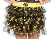 Rubie's DC Comics Superhero Style Skirt With Sequins, Black, One Size Costume