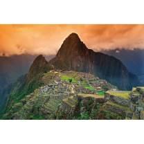 Mural – Machu Picchu Poster South America Peru – Wall Art Decoration Attraction Sights Inca City Ruins UNESCO World Heritage Cultural Landscape Wallposter Mural (82.7 x 55 Inch / 210 x 140 cm)