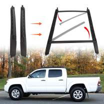ECOTRIC Roof Rack Crossbar Luggage Carrier for 2005-2018 Tacoma Double Cab Aluminum Top Rail Cross Bar