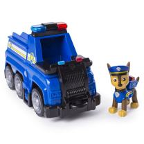 Paw Patrol Ultimate Rescue - Chase's Ultimate Rescue Police Cruiser with Lifting Seat & Fold-Out Barricade, for Ages 3 & Up