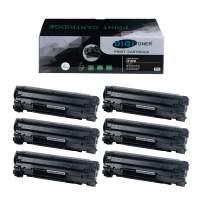 DIGITONER Compatible High Yield Toner Cartridge HP CF283X Canon CRG137 Toner Cartridge – HP 283X Canon 137 High Yield Toner Cartridge Replacement for HP Laser Printer – Black [6 Pack]