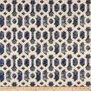 Swavelle/Mill Creek Indoor/Outdoor Scobey Fabric, Navy, Fabric By The Yard