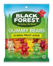 Black Forest Gummy Bears Candy, 4.5 Ounce, Pack of 12