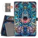 VORI Case for All-New Fire 7 Tablet (9th Generation, 2019 Release) Folio Smart Cover with Auto Wake/Sleep, Mandala
