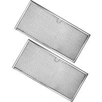 Ultra Durable 71002111 Aluminum Range Grease Filter Approx. 6-3/8 X 15-5/8 X 3/32 Inches by Blue Stars - Exact Fit for Jenn-Air & Kenmore Ranges - Replace 715290, 8310P006-60, Y715290 - Pack of 2