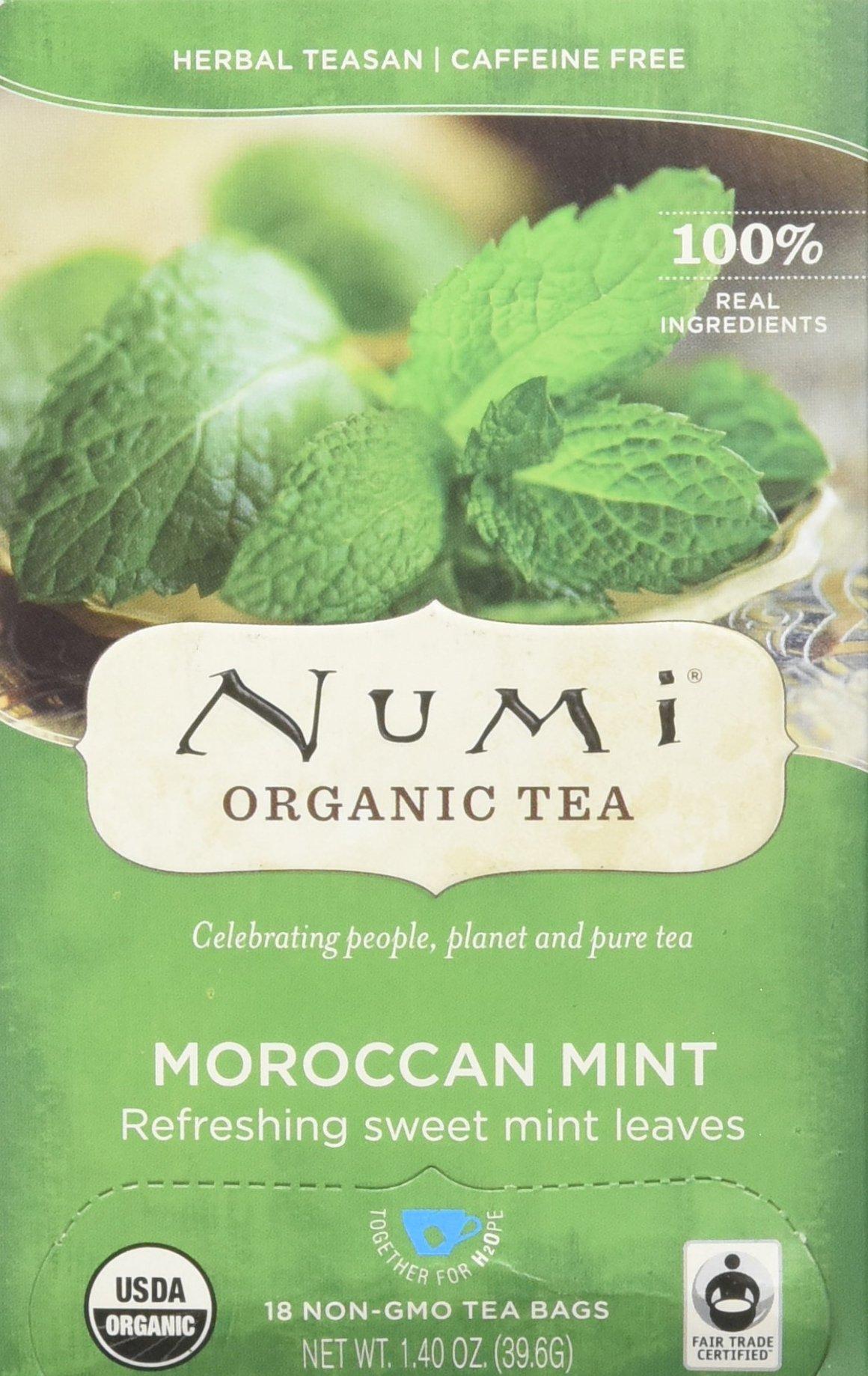 Numi Teas Organic Teas and Teasans, Moroccan Mint