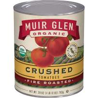 Muir Glen, Organic Crushed Fire Roasted Tomatoes, 12 Cans, 28 oz.