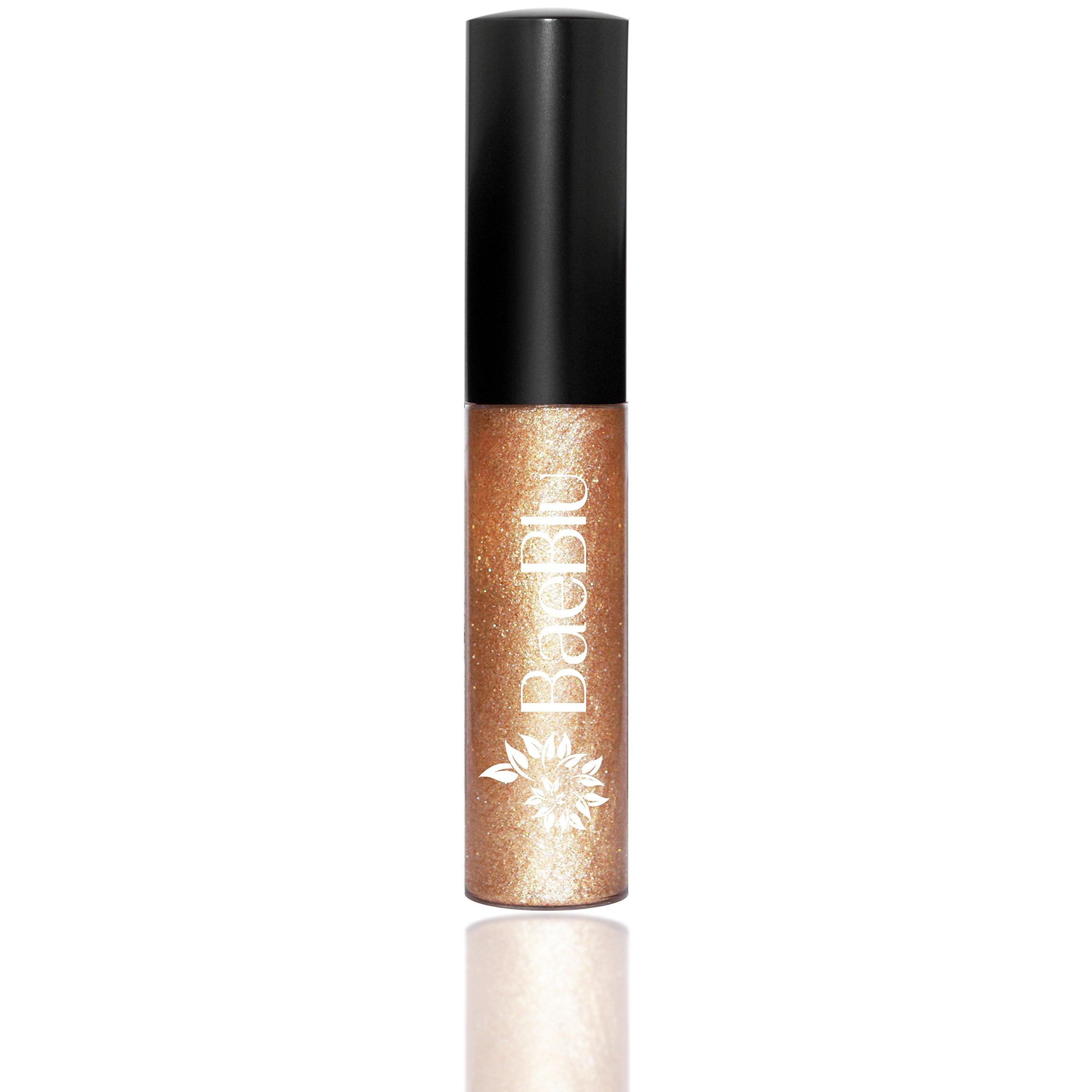 BaeBlu Organic Vegan Lip Gloss, 100% Natural Non-Toxic Moisturizing Ingredients, Bedazzled