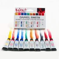 DANIEL SMITH 285610016 Alvaro Castagnet Master Artist Watercolor Set (10 Pack), 5ml