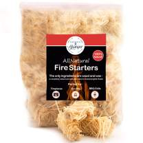Fire Starter Tumbleweed 36 Firestarter Nuggets Get Your Charcoal Fire Going Indoors/Outdoors| Ideal for Barbeque Grills (Kamado, Green Egg) Pit Smokers, Wood Stoves, Campfires Fireplaces Eco-Friendly