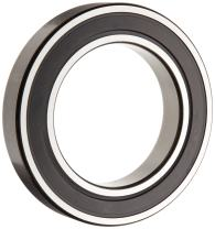 SKF 6011-2RS1 Deep Groove Ball Bearing, Double Sealed, Steel Cage, Normal Clearance, 55mm Bore , 90mm OD, 18mm Width