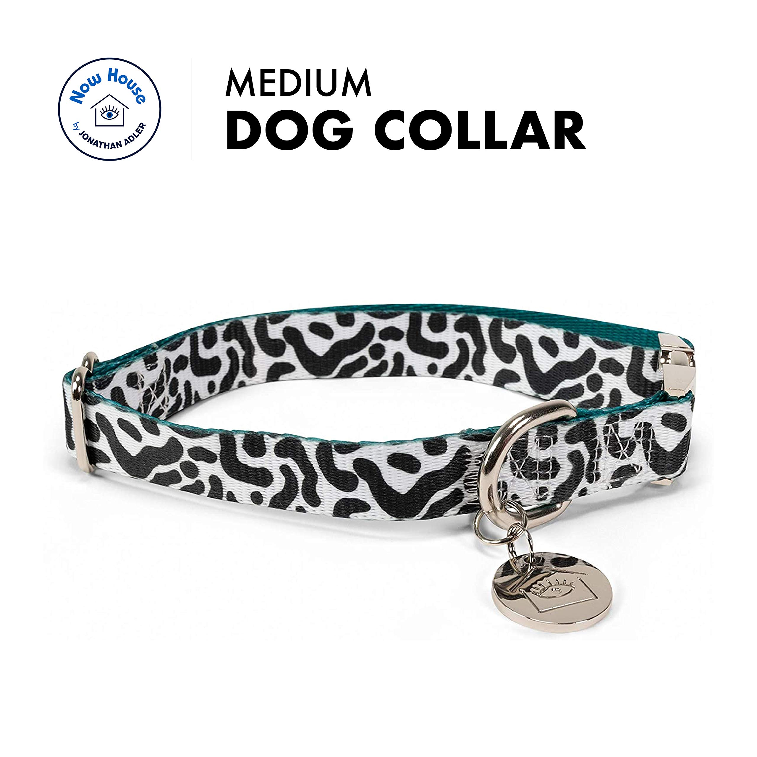 Now House for Pets by Jonathan Adler Green Chroma Collar
