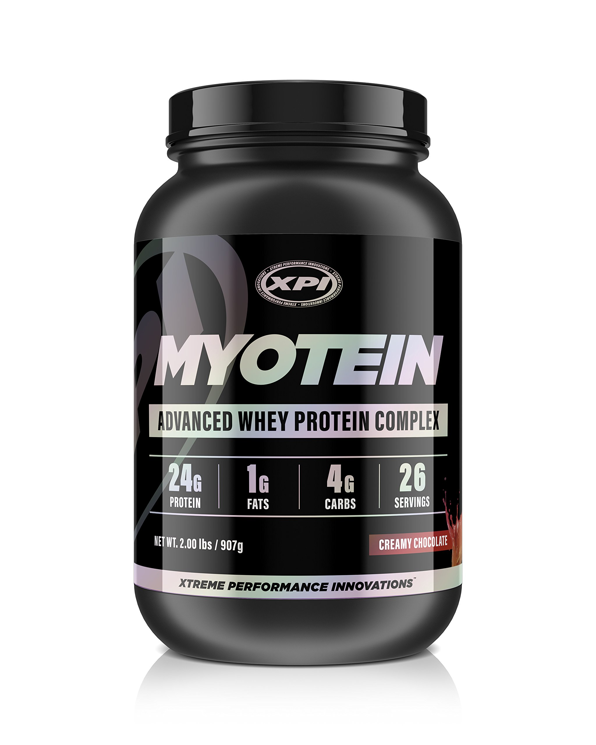 XPI Myotein Protein Powder (Creamy Chocolate, 2lbs) - Best Whey Protein Powder Complex - Great Tasting Protein - Hydrolysate, Isolate, Concentrate & Micellar Casein
