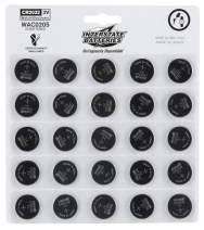 Interstate Batteries CR2032 3V Lithium Coin Battery 25 Pack (WAC0205)