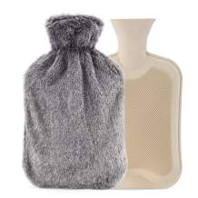 Hot Water Bottle with Cover (2 Liters) (Gray 1)