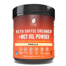 Bean Envy Keto Coffee Creamer - Coconut Milk Powder + MCT Oil Powder - Superfood Blend for Energy & Immunity Boost. Perfect for Keto, Stress management and Joint Mobility Support - Vanilla