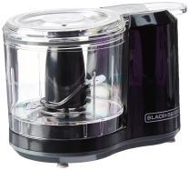 BLACK+DECKER 1.5-Cup Electric Food Chopper, Improved Assembly, Black, HC150B