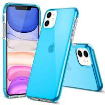 EFFENX iPhone 11 Case Clear Blue-Thin Slim Full-Body Stylish Protective Case Anti-Scratch Shock Absorption Cover Case Designed for iPhone11 2019 6.1