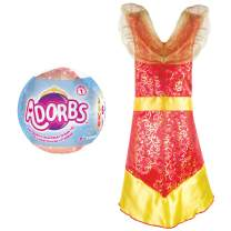 Adorbs Adorable Dress Up Clothes for Little Girls Imaginative Playtime, Red Fire