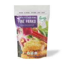 Pereg Extra Fine Japanese Panko Bread Crumbs (9 Oz) - Bread Crumbs for Coating & Stuffing - Coat Burger, Schnitzel, Vegetables, Meatballs - Kosher Certified - Resealable Packaging