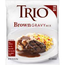 Trio Brown Gravy Mix, Just Add Water, 13.37 oz Bag