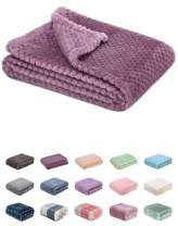 Fuzzy Blanket or Fluffy Blanket for Baby Girl or boy, Soft Warm Cozy Coral Fleece Toddler, Infant or Newborn Receiving Blanket for Crib, Stroller, Travel, Decorative (28Wx40L, XS-Burgundy)