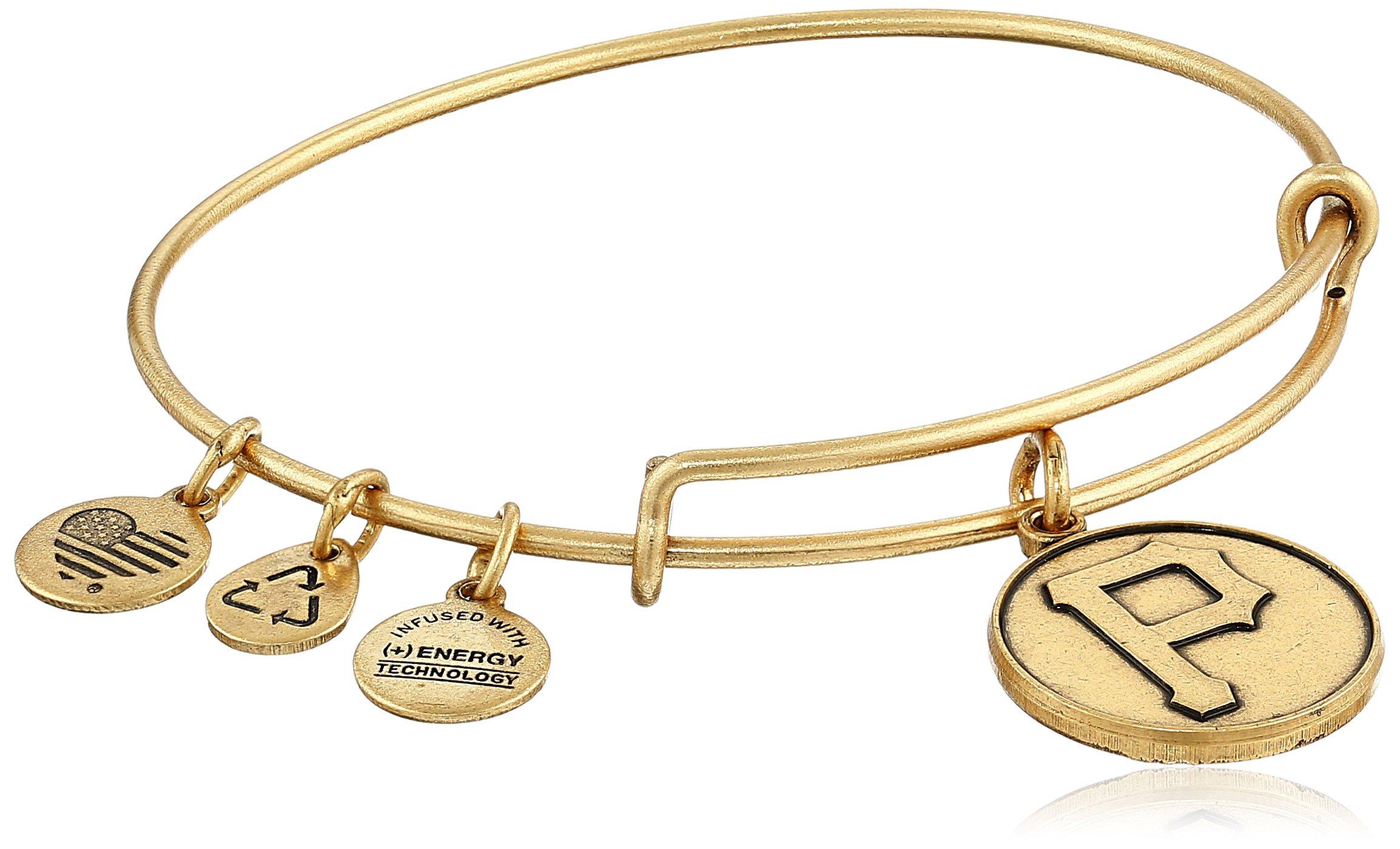 Alex and Ani Pittsburgh Pirates Cap Logo Expandable Bangle Bracelet